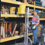 Load Lifter™ stock shelving