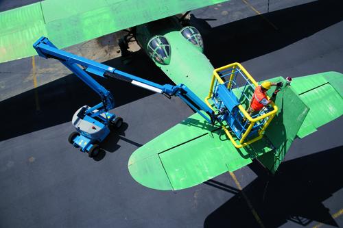 Z™- 4525 plane repair