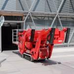 Teupens lifte er ekstremt kompakte og kan komme ind i bygninger, hvor andre lifte må give op. Foto: PR.
